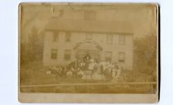 C1893 Mounted Outdoor Photo Of The Ladies Tuesday Club Picnic / Suffragist Group