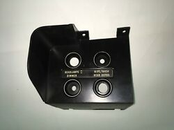 70 Challenger Cuda Dash Switch Panel 2947792 With Rear Defroster And Ribs