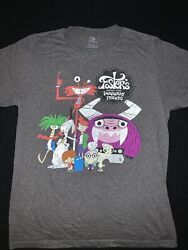 Mens Graphic Shirt Fosters Home For Imaginary Friends Cartoon Network Size M