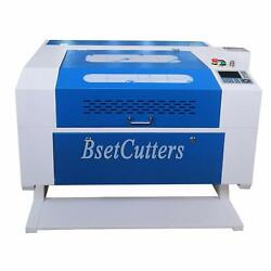 80w Co2 Laser Engraving And Cutting Machine 28and039and039 X 20and039and039 Motor Z Cw-3000 Chiller