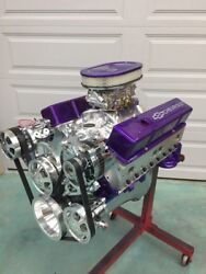 383 Efi Stroker Crate Motor Efi Included 503hp A/c Roller Chevy Turn Key Engine