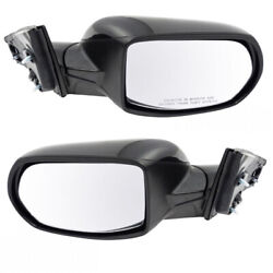 Fits 17-19 Cr-v Rear View Door Mirror Assembly Power Smooth Paintable Set Pair