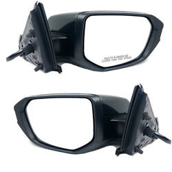For 16-19 Civic Coupe/sedan Rear View Mirror Power Heated W/o Signal Set Pair