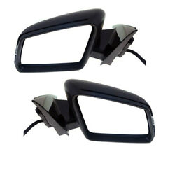 10-16 Benz E-class Mirror Power Folding W/memory Signal And Puddle Lamp Set Pair