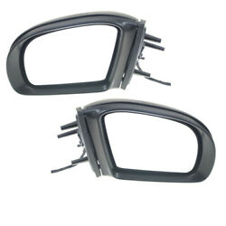 06 07 08 Mercedes Ml-class Mirror Power Heated W/signal And Puddle Lamp Set Pair