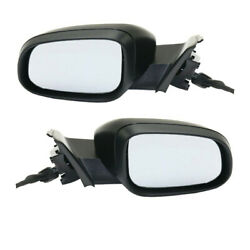 11-18 S60 And 15-18 V60 Rear View Mirror Power W/puddle And Signal Lamp Set Pair