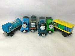 Thomas And Friends The Tank Engine Lot Of Magnetic Trains Toys Light Up Aquarium