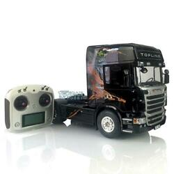 Hercules R730 Highline Tractor Truck Rc 1/14 Scania Painted Gripen Radio Light