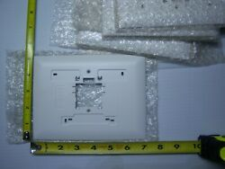 Lot Of 7 Thermostat Back Plate 6 7/8 Wide X 5 1/8 Tall Mistake / Goof Cover
