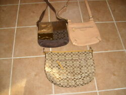 Coach Lot....3 Handbags...Includes 2 Crossbody Style $20.00