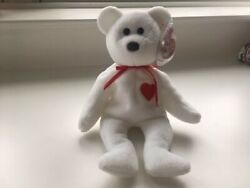 Ty Beanie Baby Valentino Mint Condition With Errors