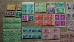 Small Stamp Collection 1c - 2c - 3c - 4c Us Stamps Make An Offer