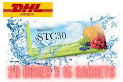 20 Box Superlife Stc30 Supplement Stemcell Activator Vitamins Of 15 Sachets Dhl.