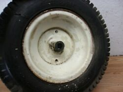 Mtd Gt 18.5 46 Riding Mower One Front Wheel / Tire 16x6.50-8 Older Tire