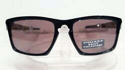 New Oakley POLARIZED quot;SLIVERquot; Sunglasses Polished Black w Prizm Daily 009262 07 $88.95