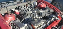 Engine 11-14 Ford Mustang 3.7l V6 Motor And Auto 6 Speed Transmission 89k Miles