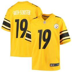 Juju Smith-schuster Pittsburgh Steelers Nike Youth Inverted Game Jersey - Gold