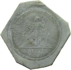 Guatemala 4 Reales Uniface 4 Reales Lead T64 547