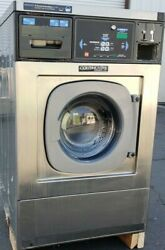 Continental Girbau Front Load Washer Coin Op 20lb, 120v 60hz 1ph, S/n1432488a08
