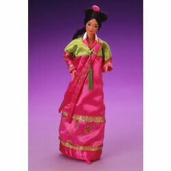 Barbie 1987 Korean Dolls Of The World First Edition Made In China Nrfb