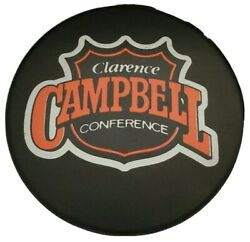 Clarence Campbell Conference Nhl Official Game Puck Ziegler General Tire Trench