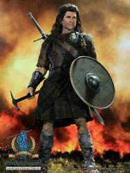 Pangaea Toy 1/6 Scottish General William Wallace Pg05 War Painted 12male Figure