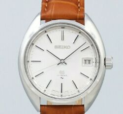Grand Seiko 45gs 4522-7010 Original Silver Dial Manual Vintage Watch 1971and039s
