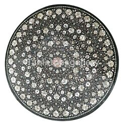 42 Marble Top Dining Table Mother Of Pearl Floral Fine Inlay Garden Decor B187