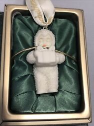 """Department 56 Snowbabies Ornaments My Gift To You"""" Book Series Ix 32"""