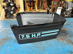 74-76 Mercury 75 7.5 Hp Outboard Motor Lower Cowl Wrap / Horse Collar