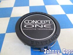Concept One Wheels [78] Used Black Center Cap 2204000125 Qty. 1