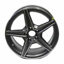 18 Wheels Set Of 4 Mercedes Amg C300 C400 2015-2019 Factory Oem Staggered