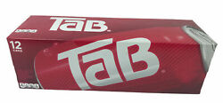 12 Pack Of Tab Soda Cola Brand New Unopened Rare Exp. Feb.15.2021