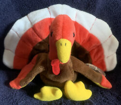 """Ty Beanie Babies """"gobbles"""" 1996"""
