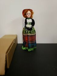 1960and039s Arco Scotland Doll Atlantic Richfield Gas Promo Freebie 7+ Inches Tall