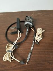 Vintage Foredom Model 205 Flex Shaft Rotary Tool Hand Piece Foot Pedal Works