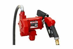 Fill-rite Fr710vb 115v 20 Gpm Fuel Transfer Pump With Discharge Hose And Automa...