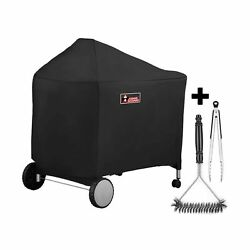 Kingkong 7152 Grill Cover For Weber Performer Charcoal Grills 22-inch Compa...