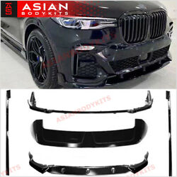 Body Kit For Bmw X7 G07 2018+ Front Lip Rear Diffuser Side Skirts Roof Spoiler