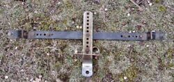 Vintage Aftermarket Add-on Trailer Hitch For Cars, Mopar Chevy Ford
