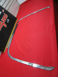 1959 Ford Convertible Sunliner Galaxie Fairlane Pinchweld Molding Pair Top Boot