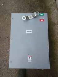 New Siemens 400amp I-line Bus Duct Switch Fac-mur100s Jxd63s400a Jxd6-a