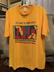 Talking Heads Vintage Shirt Rare Speaking In Tongues