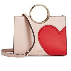 Kate Spade Heart It SAM BagNWT Red HEART Leather Valentine 25th Anniversary $399.00