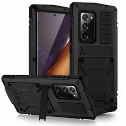 Shockproof Case For Galaxy Note20/20 Ultra Metal With Glass 360°screen Protector