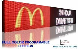 Latest Bright Full Color Led Display 25 X 101 Image Graphic Animation Signs