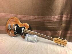 1960and039s Harvey Thomas Electric Guitar Project For Repair-restoration Rare Unique
