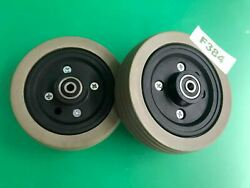 6x2flat-free Caster Wheel Assembly With For Jazzy Select Power Chairs F384