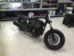 Salvage Title Victory Highball 2012 Motor With Frame And Engine