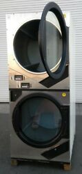 Stainless Steel Adc Gas Stack Dryer Coin Op, 240v 60hz 1ph, S/n549054 [refurb.]